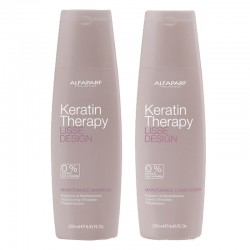 Kit Alfaparf Lisse Design Keratin Therapy Shampoo 250 ml + Maintenance Conditioner 250 ml
