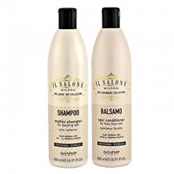 Kit Alfaparf Il Salone Milano Mythic Shampoo 500 ml + Epic Conditioner 500 ml