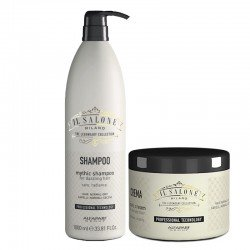 Kit Alfaparf Il Salone Milano Mythic Shampoo 1000 ml + Iconic Cream 500 ml