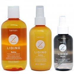 Kit Kemon Liding Bahia Shampoo Hair & Body 250 ml + Spray 200 ml + Beauty Oil 100 ml