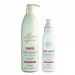 Kit Alfaparf Il Salone Milano Magnificent Shampoo 1000 ml + Eternal Leave-In Spray 200 ml