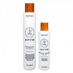 Kit Kemon Actyva Nutrizione Shampoo 250 ml + Cream 150 ml