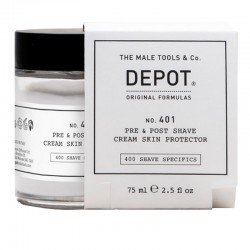 Depot No.401 Pre e Post Shave Cream Skin Protector 75ml