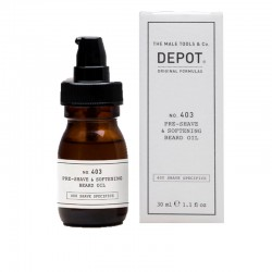 Depot No.403 Pre-Shave e Softening Beard Oil 30ml