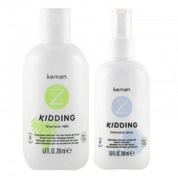 Kit Kemon Kidding Shampoo Capelli&Corpo 200 ml + Spray Districante 200 ml