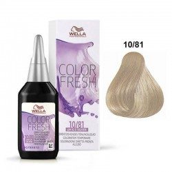 Wella Color Fresh Silver 10/81 Biondo platino perla cenere 75 ml