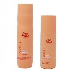 Kit Wella Invigo Nutri-Enrich Deep Nurishing Shampoo 250 ml + Wonder Balm 150 ml