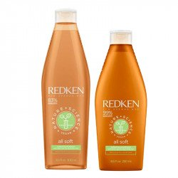 Redken Nature + Science All Soft Shampoo 300 ml