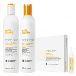 Z.One Milk Shake Color Care Maintainer Shampoo 300 ml + Conditioner 300 ml + Treatment 8*12 ml