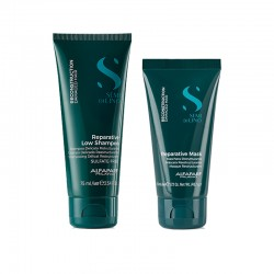 Alfaparf Semi di Lino Reconstruction Reparative low shampoo 75 ml + mask 50 ml