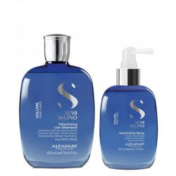 Alfaparf Semi di Lino Volumizing Low Shampoo 250 ml + Spray 125 ml