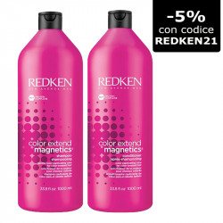 Redken Color Extend Magnetics Shampoo 1000 ml + Conditioner 1000 ml