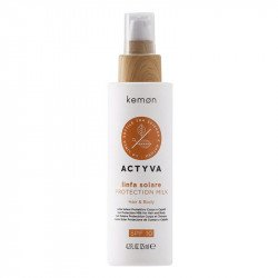 Kemon Actyva Linfa Solare Hair & Body Protection Milk SPF 10 125 ml