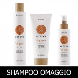 Kemon Actyva Linfa Solare Shampoo 250 ml + Mask 200 ml + Dry Spray 125 ml
