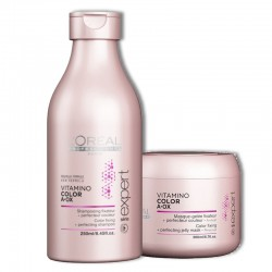 Kit L'Oreal Vitamino Color Shampoo 250 ml + Maschera 200 ml